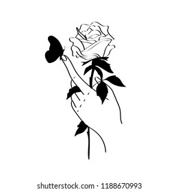 tattoo designs girl cosmos outline style fashion