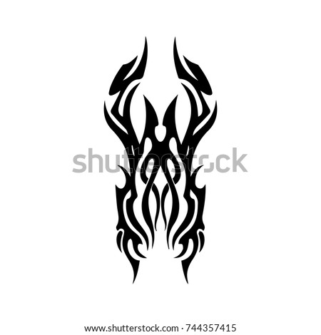 3c682cc40 Tattoo Designs Tattoo Tribal Vector Design Stock Vector (Royalty ...
