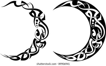 Tattoo moon