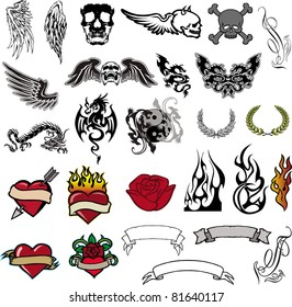 Tattoo Banner Images Stock Photos Vectors Shutterstock