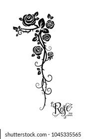 Tattoo rose flowers