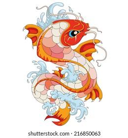 Fish Tattoo Images Stock Photos Vectors Shutterstock