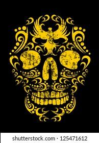 tattoo skull vector art