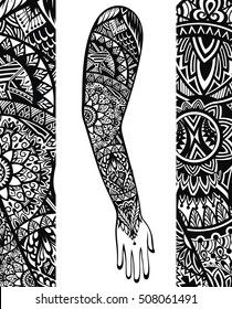 Polynesian Tattoo Images Stock Photos Vectors Shutterstock
