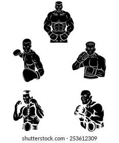 Tattoo Symbol Of Boxer