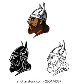 Tattoo Symbol Of Vikings set collection,isolated on white background.Vector illustration
