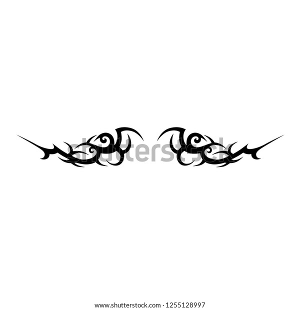 Tattoo Tribal Design Vector Pattern Logo Stock Vector