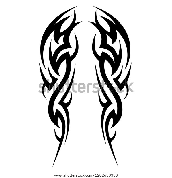 Tattoo Tribal Sleeve Design Vector Pattern Stock Vector Royalty