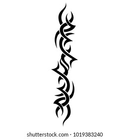 tattoo tribal sleeve vintage designs, vector art  pattern, tattoos arm vector thorn designs tattoo arm vector illustration