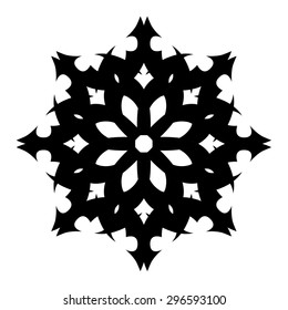Tattoo tribal vector design sketch. Simple circle art  logo black ornament. Designer isolated abstract element for arm, leg, shoulder men and women on white background.