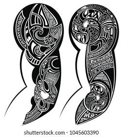 Tattooed hand tattoo