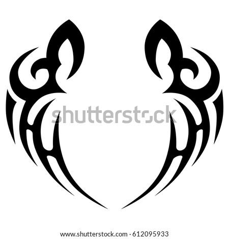 Tattoos Ideas Designs Tribal Tattoo Pattern Stockvector Rechtenvrij
