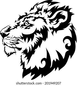 Tattoos lions.vector