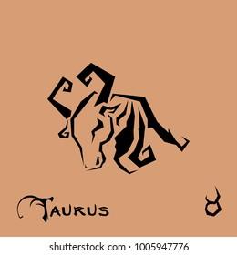 Taurus Zodiac Sign Tattoo art
