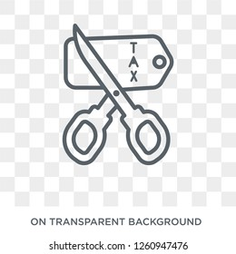 Tax free icon. Tax free design concept from Delivery and logistic collection. Simple element vector illustration on transparent background.
