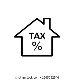 tax icon template