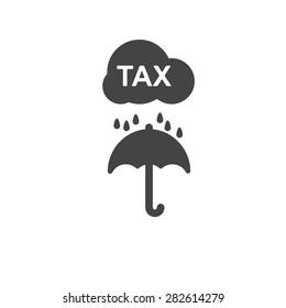 tax icon umbrella