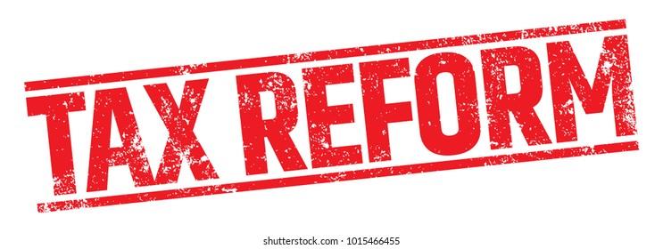 Tax Reform Stamp