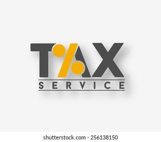 tax logo images stock photos vectors shutterstock rh shutterstock com tax login in tax login page