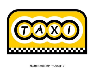Taxi emblem
