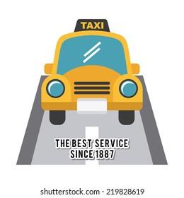 taxi graphic design , vector illustration