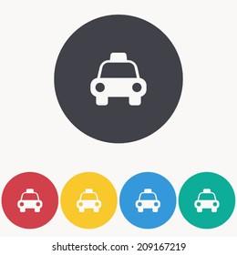 taxi icon , vector illustration