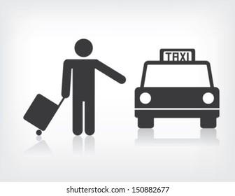 Taxi Illustration