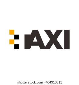taxi logo vector.