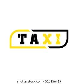 taxi logo vector design