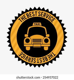 taxi service design, vector illustration eps10 graphic