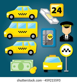 Similar Images, Stock Photos & Vectors of Taxi Service
