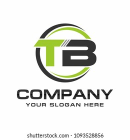 TB logo design vector