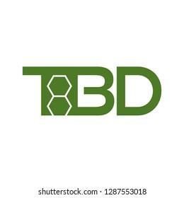 TBD logo vector.
