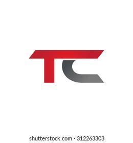 TC company linked letter logo