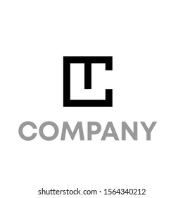tc logo vector design template sign
