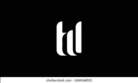 TD logo design template vector illustration