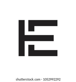 TE letter logo