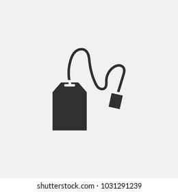 Tea bag icon illustration isolated vector sign symbol