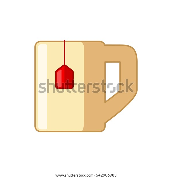 tea cup icon illustration isolated vector sign symbol