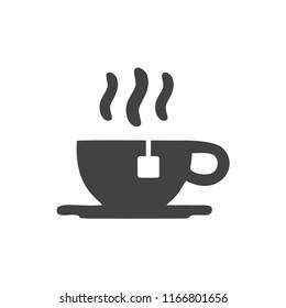 Tea cup icon. Vector