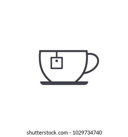 tea cup icon vector Eps10