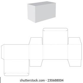tea die box design