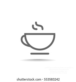 Tea icon vector.