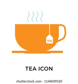 Tea icon vector isolated on white background for your web and mobile app design, Tea logo concept