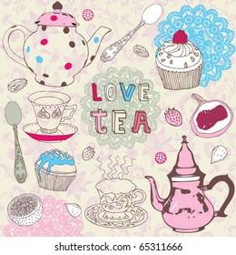 tea love set