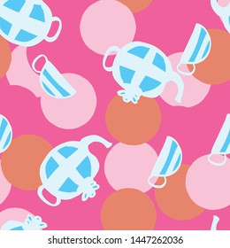 tea party pattern design. Perfect for party, illustration or homeware.