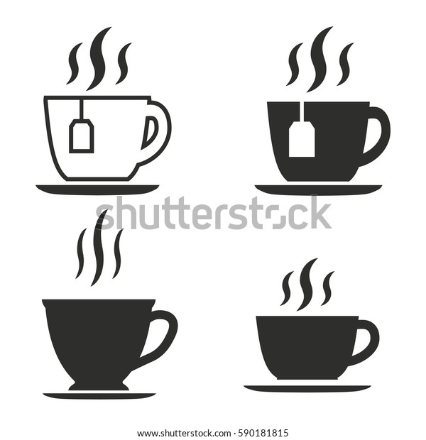 tea vector icons set black illustration stock vector royalty free 590181815 https www shutterstock com image vector tea vector icons set black illustration 590181815
