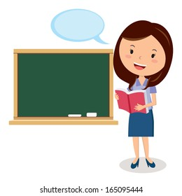 Teacher Cartoon Images Stock Photos Amp Vectors Shutterstock
