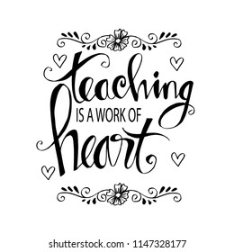 Teaching Quote Images, Stock Photos & Vectors | Shutterstock