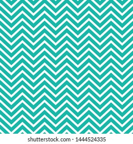 Teal and White chevron seamless pattern. Perfect for backgrounds, packaging, fabric, scrapbook pages, invitations and more.